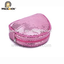 Recycle Durable Custom Travel Quilted Cosmetic Bag Makeup