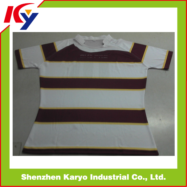 Custom Made Professional Rugby Jersey,Rugby Shirt,Sublimation Rugby Uniform