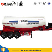 3 Axle Bulk Cement Tank Semi Trailer For Sale
