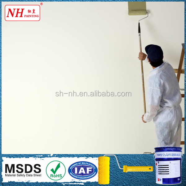 Eco-friendly green indoor wall acrylic emulsion paints