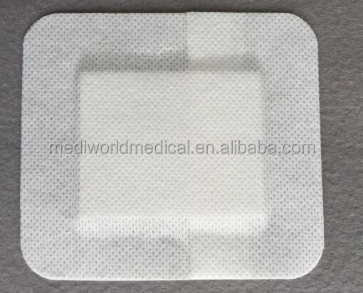 Free sample medical adhesive non woven wound dressing patch