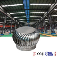 Anti-corrosion stainless steel turbine ventilator fan for flue vent for Korea market