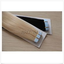 Real Remy glue tape hair extension