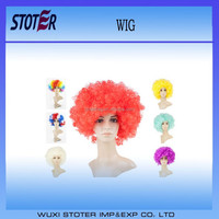 cheap football sports fans wig