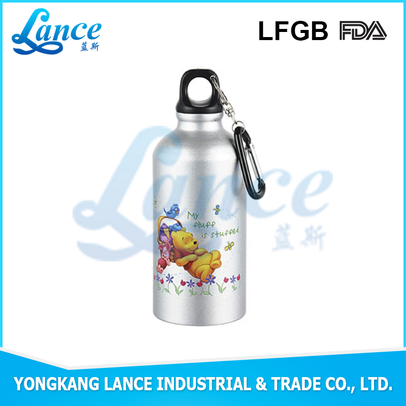 High quality 350ml stainless steel baby feeding bottle water bottle