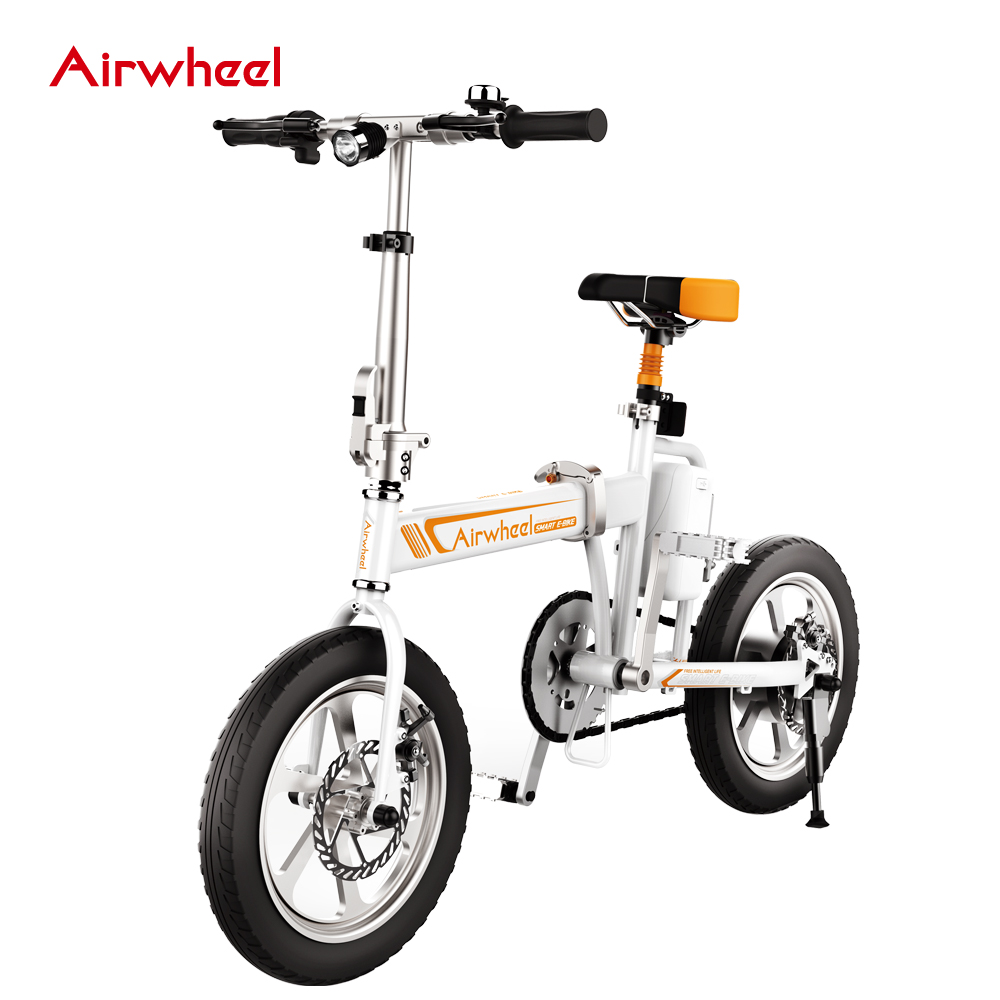 b40fed1af51 Airwheel R5 mini folding electric bike with high quality, View electric bike,  Airwheel Product Details from Changzhou Airwheel Technology Co., ...