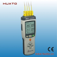 Handheld 4-Channel Digital Thermocouple thermometer temperature datalogger
