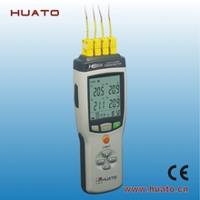 Handheld 4 Channel Digital Thermocouple thermometer temperature datalogger