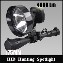 Tactical Gun Rifle Shotgun flashlight Mount Light 3500lm hunting torch