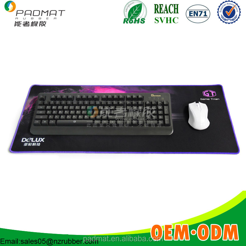 XXL game mouse pad keyboard mice mat good for player