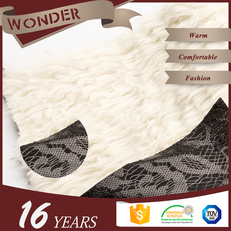 Fabric Textiles Factory Price Hot Stamping Serpentine Suede Cheap Faux Fur Fabric