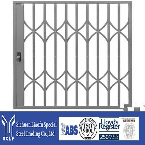 Direct Factory Price Stainless Steel Folding Gate With Different Powder Coating Colors Surface