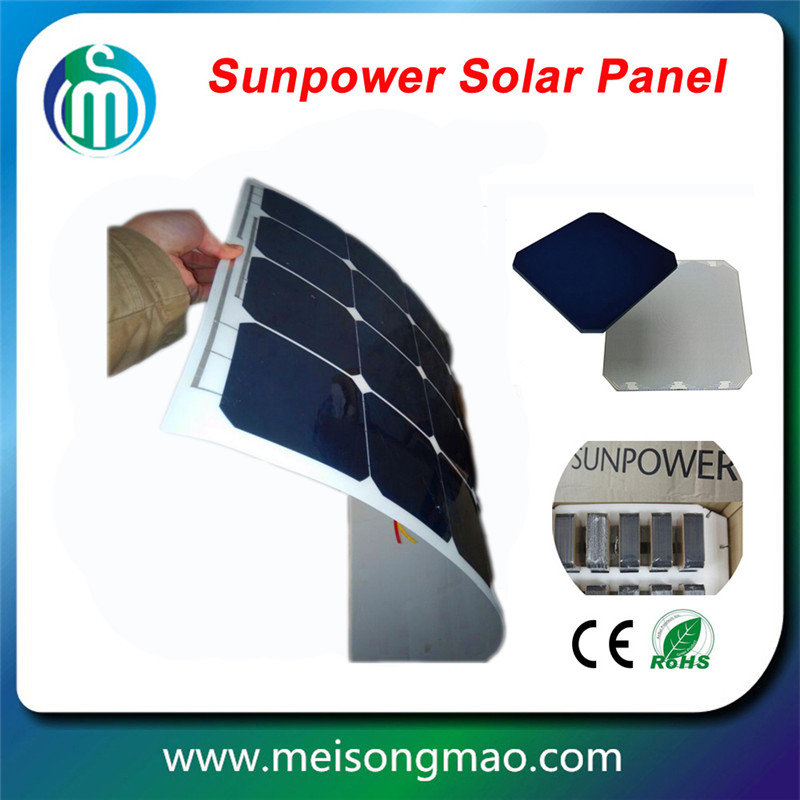 whosale 150W flexible solar panel on sale