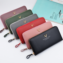 wholesale fashionable leather wallet women,latest design women purse