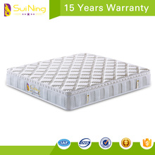 China manufacturer hotel furniture talalay latex pocket spring mattress A1032-14