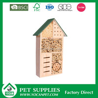 wooden insect cage nesting box