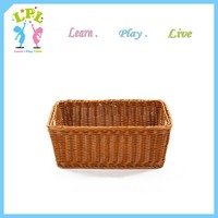 Home storage organization fruit bread toys plastic storage basket with holes