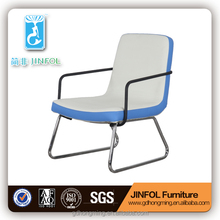 PU Steel Frame Modern Style Chair Simple Bed Room leisure chair