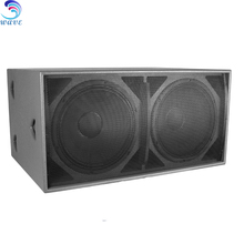 1200W Powerful Dual 18 inch subwoofer speaker box