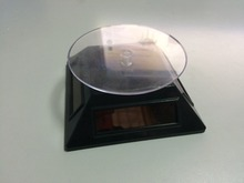 solar power small size rotary display turntable