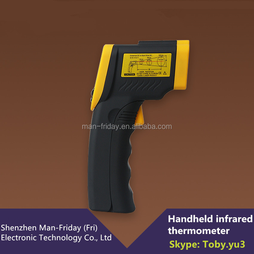 Latest Design 8008 Handheld Digital Infrared Thermometer With 5-14 um