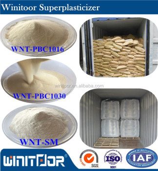 Concrete superplasticizer and concrete water reducing admixture