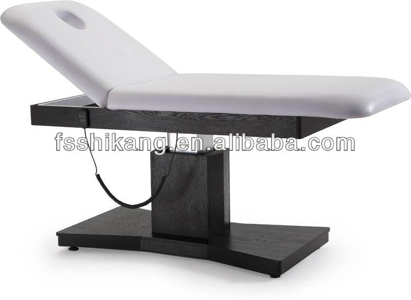 2015 beauty salon facial bed & massage electric beauty bed & massage bed spa equipment portable