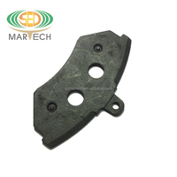 factory supply good quality volvo CV brake pad back plate