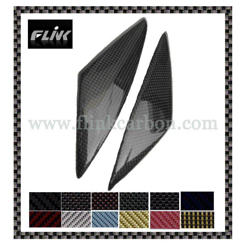 Motorcycle Suzuki GSXR 1000 05-06 Carbon Fiber Side Tank Cover