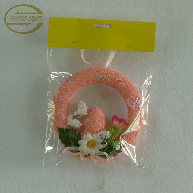 18cm easter egg wreath