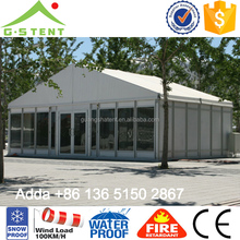 GS09 permanent outdoor shelter hard wall tent