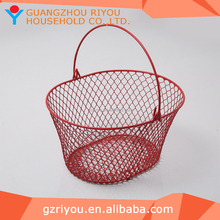 2016 Customized Cheap Wire Egg Collection Basket