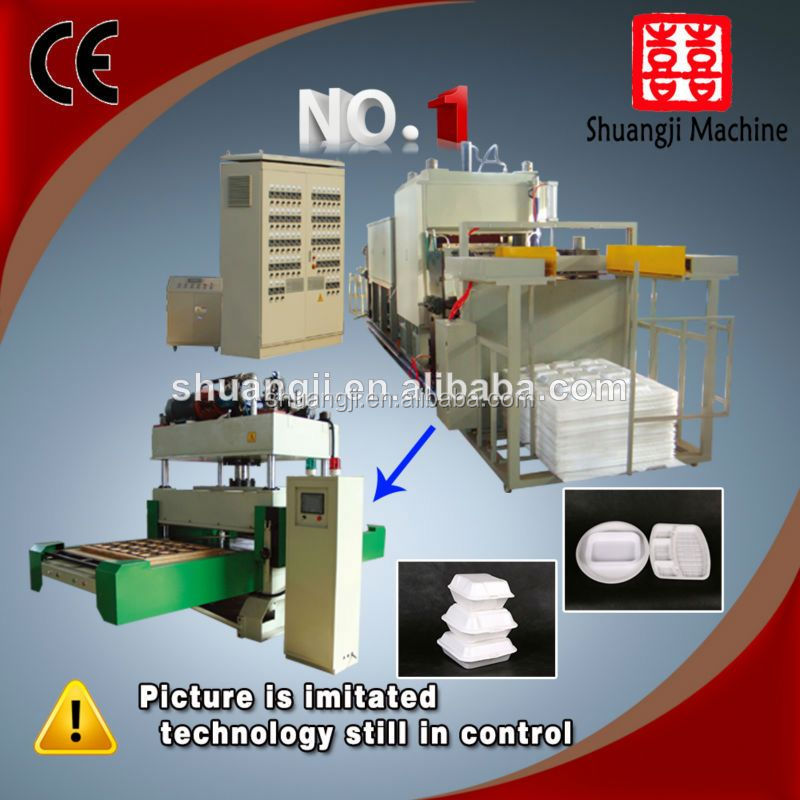ps foam food packaging box machine