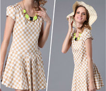 Newest lady casual dress/women clothes/cotton dress