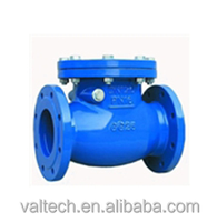 above below ground pipeline products civil engineering use Ductile Iron Swing Check Valve for contractors