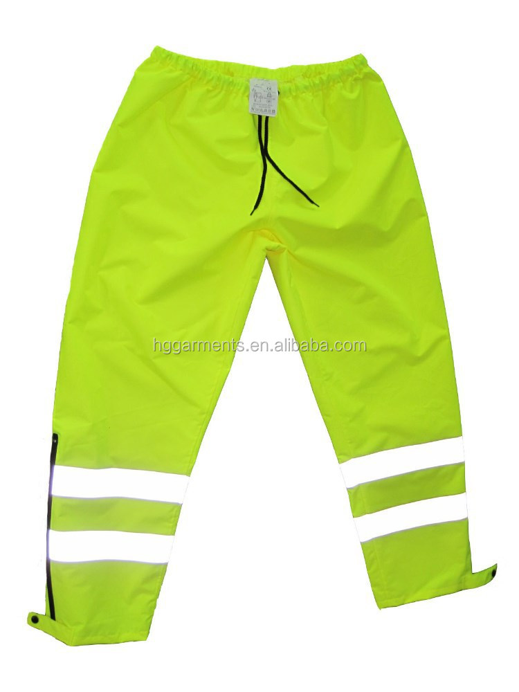 Hi Vis Workwear Clothing Reflective Tape Pants
