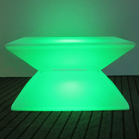 Rechargeable Led Light Coffee Table Modern Coffee House Furniture