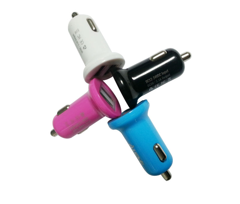 Universal Dual Usb Car Charger 2.1a For Tablets