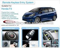 2012 New Products PKE Remote Control Auto Smart Keyless Entry System For Honda Jazz/Fit