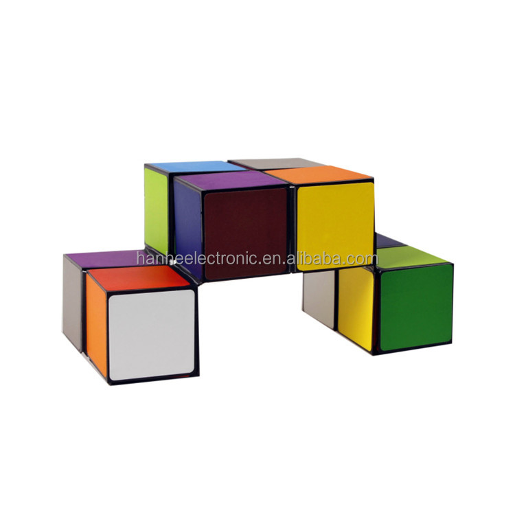 Made in China In Stock custom magic puzzle cube,puzzle