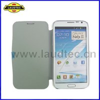 Unique leather flip case pouch for samsung galaxy note2 n7100 wholesale top quality