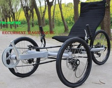 Factory customized recumbent frame electric recumbent trike sale