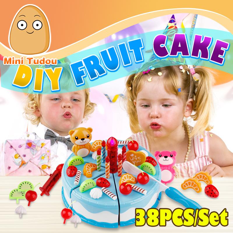 minitudou play food unids miniatura de cocina de color rosa los nios juego de imaginacin