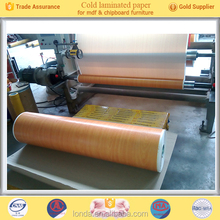 Factory Wholesale Wood grain decorative paper for wood furniture