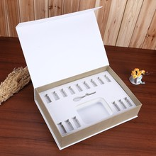High end cosmetic packaging paper box for essential oil