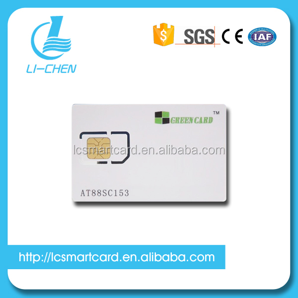 AT88SC153 sim chip card