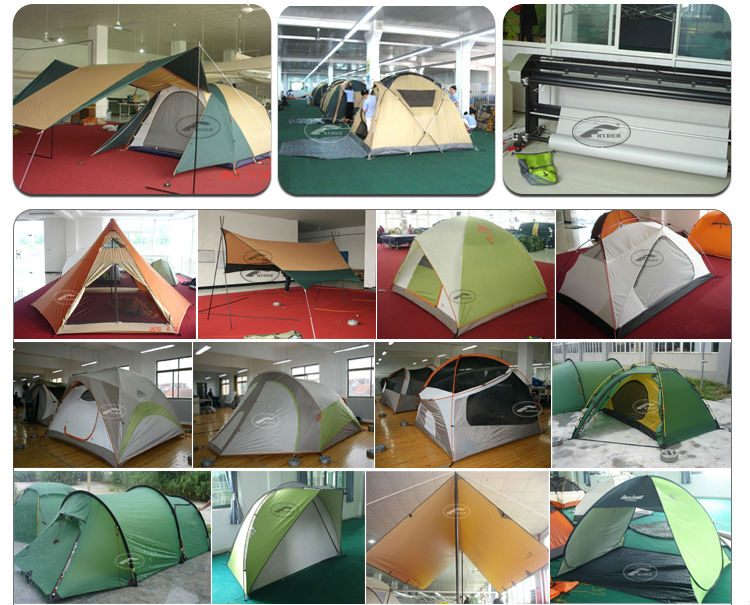 3 Person Camping Alloy Pole Tent Ripstop Outdoor Tent