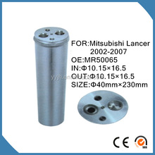 R134a AC Aluminum Filter,Refrigeration filter driers with nuts