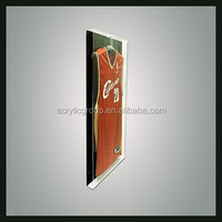 Custom Wall Mounted Acrylic Jersey Display Cases