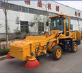 Wheel Loader type Street floor sweeping machine